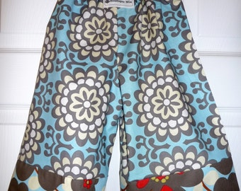CHILDREN -BOY/GIRL - Samurai PANTS - Amy Butler - Wallflower - 2 Years of Fashion - Pick the size Newborn to 8 Years by Boutique Mia