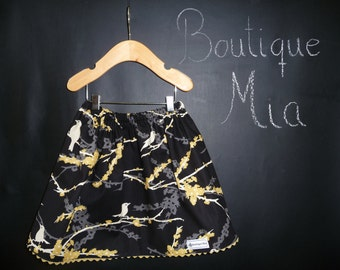 BUY 2 get 1 FREE - Skirt - Joel Dewberry - Sparrow - Pick the size Newborn up to 14 Years by Boutique Mia