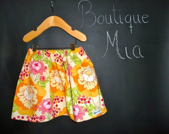 BUY 2 get 1 FREE - Skirt - Sandi Henderson - Meadowsweet - Pick the size Newborn up to 14 Years by Boutique Mia
