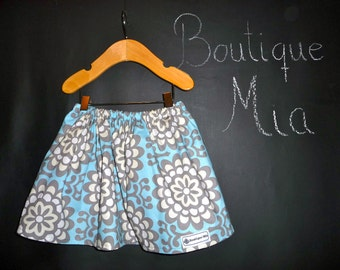 BUY 2 get 1 FREE - Skirt - Amy Butler - Wallflower - Pick the size Newborn up to 14 Years by Boutique Mia