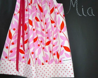 Pillowcase DRESS - Heather Bailey - Nicey - 2 Years of Fashion - Pick the size Newborn up to 12 Years - by Boutique Mia
