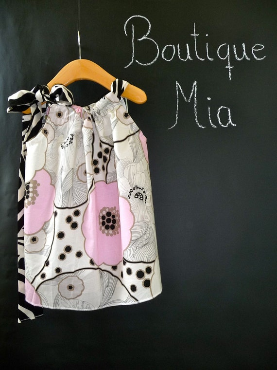 Pillowcase DRESS - Alexander Henry - Thea - 2 Years of Fashion - Pick the size Newborn up to 12 Years - by Boutique Mia