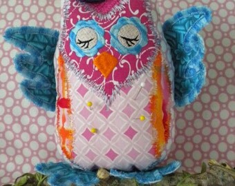 Owl Machine Embroidery Designs