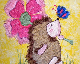 Forest of Fuzzies Machine Embroidery