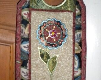 Elegant Door Hanger Project Machine Embroidery