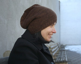 Knitting Pattern for Super Simple Slouch (S3 hat)