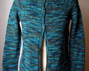 Knitting Pattern for Laura Cardigan