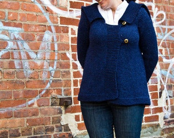 Knitting Pattern for Downton Abbey Sybil's Sweater