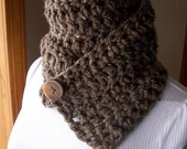 Brownstone Button Scarf or Cowl
