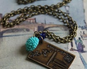 Wish You Were Here - Postcard Necklace