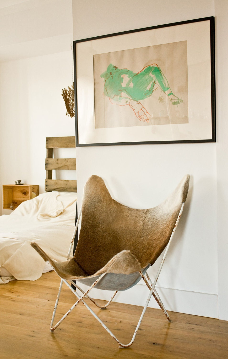 Cowhide butterfly chair - Item Details
