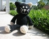 PDF - Ally the Cat Amigurumi Crochet Pattern - INSTANT DOWNLOAD