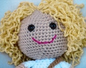 PDF - Huggable Georgie, an Amigurumi Crochet Doll Pattern - INSTANT DOWNLOAD