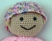 PDF - Huggable Baby Jessie, an Amigurumi Crochet Doll Pattern - INSTANT DOWNLOAD