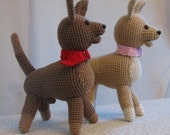 PDF -- Life-Like Pets -- Chihuahua Amigurumi Crochet Pattern - INSTANT DOWNLOAD