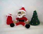 PDF - Little Santa Claus Amigurumi Crochet Pattern - INSTANT DOWNLOAD