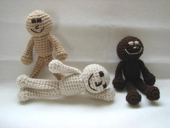 PDF - Little People Amigurumi Crochet Pattern - INSTANT DOWNLOAD