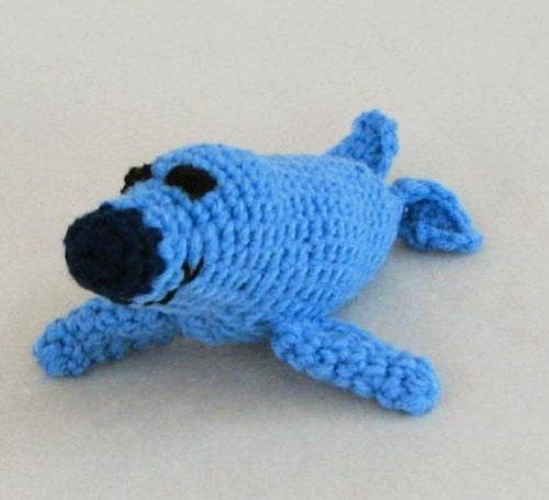 Amigurumi Sammy The Seal : PDF Sammy the Seal Amigurumi Crochet Pattern by SherriCrochets