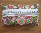 Cute as a Button Tissue Holders- Pink Floral