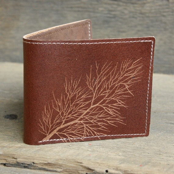 Trim Leather Wallet