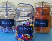 Vintage Canning Jars - Set of 3