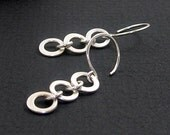 Mobile Earrings -  Argentium Sterling Silver Dangle Earrings