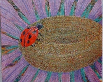 Ladybug at Work (original sold, reproductions available)