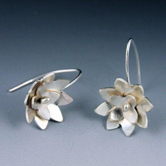 Lotus Blossom Earrings