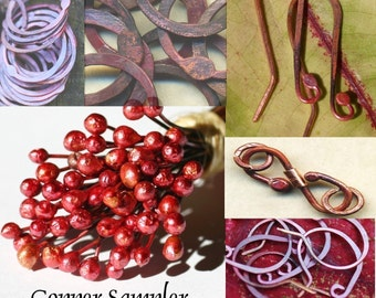 Copper Findings Sampler Pack