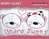 SALE ON Beary Sweet (7) Page PDF Embroidery Patterns