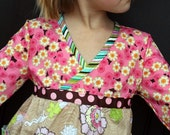 Girls Twirly Dress Girls Valentines Day Dress Girls Easter Dress- Ready to Ship