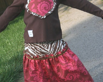 Holiday Twirly Tulle Skirt - Size 3t  READY TO SHIP