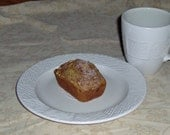 HUGE Sale 4 Mini Banana Bread Loaves with a Walnut Streusel Topping--Promotional Price