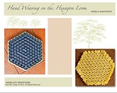 WEAVING BOOK (Digital Edition) Hand Weaving on the Hexagon Loom