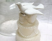 White Porcelain Limoges Dove