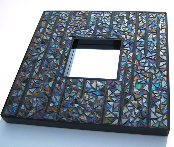 Midnight Rain Mosaic Mirror