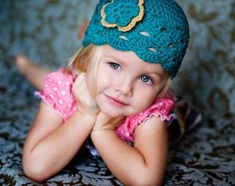 Baby Newborn Beanie, Crochet Baby Hat, Baby Girl Hat, Baby Newborn Hat, Newborn Beanie, Teal Camel, Newborn Baby Hat, Toddler Hat
