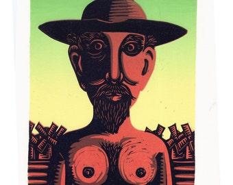 Don Quixote original print