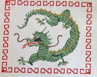 Asian Dragon Cross Stitch