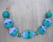 Seven Lampwork Beads