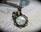 New Lower Price Authentic Montreal Map Necklace with Your Choice of Charm
