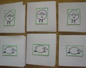 Sheepy Mini Cards set of 6