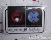 Sock Horror page markers set of 2