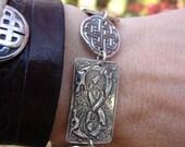Celtic Hounds Bracelet, reserved for Niels