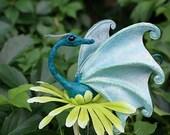Dragon Wand - Teal Pixie Dragon