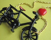 The Grand Tour Bicycle Necklace
