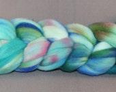 Parrotfish - Orbit hand-dyed superfine merino top\/roving