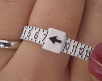 Ring Sizer -Adjustable - Find your perfect size - Sizes 1 thru 17