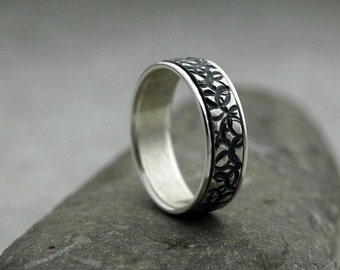 Round and Round We Go - Spinner Ring Handmade in Sustainable Sterling Silver