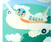 Flying South -  Small Giclee Print, Unframed